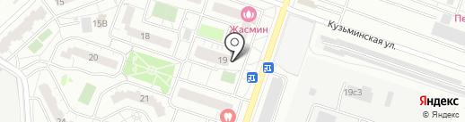 Магазин цветов и подарков на карте Котельников