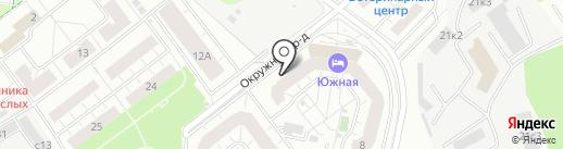 Рублёвский на карте Котельников