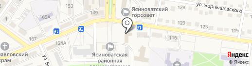 Управление статистики в г. Ясиноватой на карте Ясиноватой