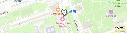 Apple-Reutovo на карте Реутова