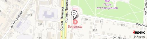 Био-Лайн на карте Ясиноватой