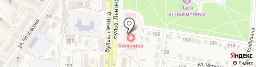 РЦ ТД Лекарства Донбасса, ГП на карте Ясиноватой