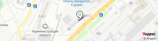 Тале, ЗАО на карте Котельников