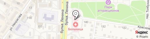 Детская поликлиника на карте Ясиноватой