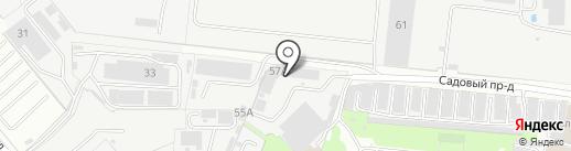 ВостокПринт на карте Реутова