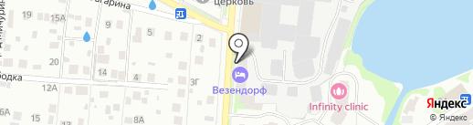 Молочный домик на карте Пушкино