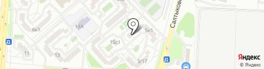 Wifi77 на карте Москвы