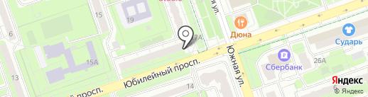 Городская поликлиника №2 на карте Реутова