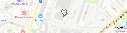Гелинта на карте Котельников