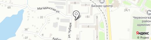 Торгово-монтажная компания на карте Макеевки