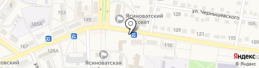 Союзпечать на карте Ясиноватой