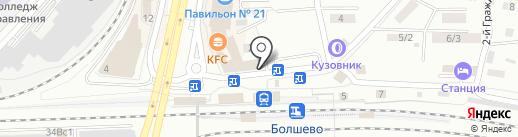 Радуга на карте Королёва