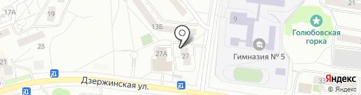 Мосремхолдинг на карте Дзержинского