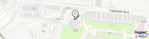 Autocar на карте Реутова