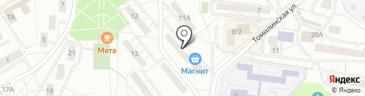 80-й км на карте Дзержинского