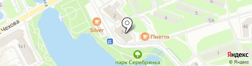 Капитан Немо на карте Пушкино