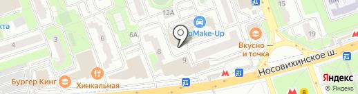АРТ ФАСАД на карте Реутова