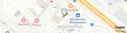 Мед-Альфа на карте Котельников