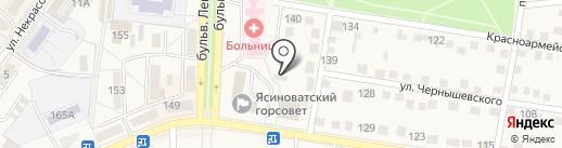 Дизайн-студия корпусной мебели, СПД Бондаренко С.Ю. на карте Ясиноватой