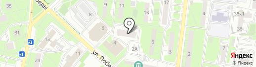 Спецтрансснаб на карте Реутова