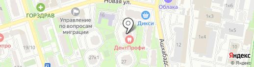 Джоконда на карте Реутова