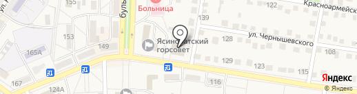 AVON на карте Ясиноватой