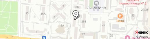 Стоматологическая поликлиника на карте Королёва
