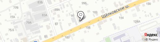 ДвиТор на карте Балашихи
