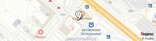 CyberPlat на карте Котельников