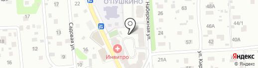 Фрея на карте Пушкино