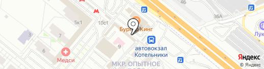 Burger club на карте Котельников