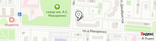 Монолит Сервис на карте Королёва