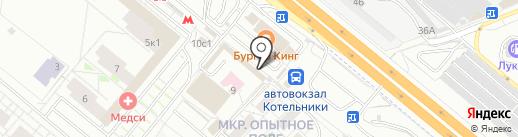 Чебуречная на карте Котельников