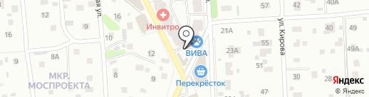 Дело вкуса на карте Пушкино