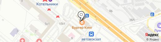 Норман на карте Котельников