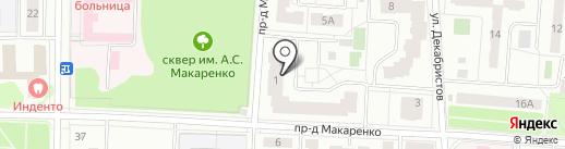 Королевский дом ремонта на карте Королёва