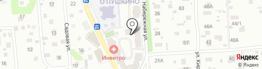 Пушкинская на карте Пушкино
