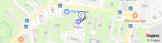 Почтовое отделение №143960 на карте Реутова