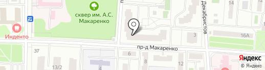Столички на карте Королёва
