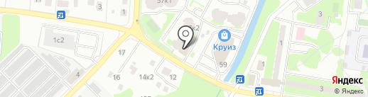 EURO-автомойка на карте Пушкино