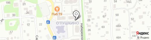 9 Мая на карте Пушкино