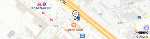 Кафе на карте Котельников