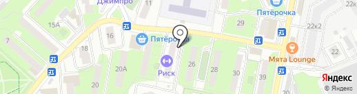 Продсеть на карте Реутова