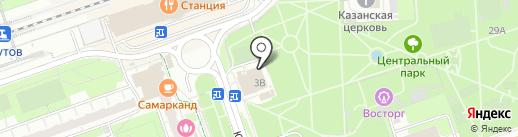 Кафе-шашлычная на карте Реутова