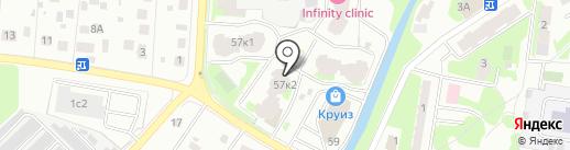 Альтернатива+ на карте Пушкино