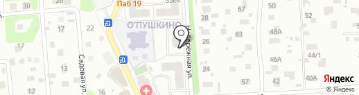 Пиноккио на карте Пушкино