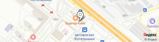 PickPoint на карте Котельников