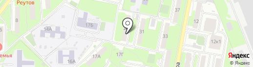 Участковый пункт полиции на карте Реутова