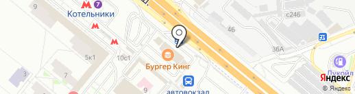 Токер на карте Котельников