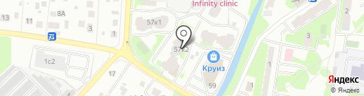 Все для дома и ремонта на карте Пушкино